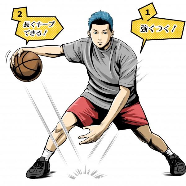 月刊バスケットボール/挿絵